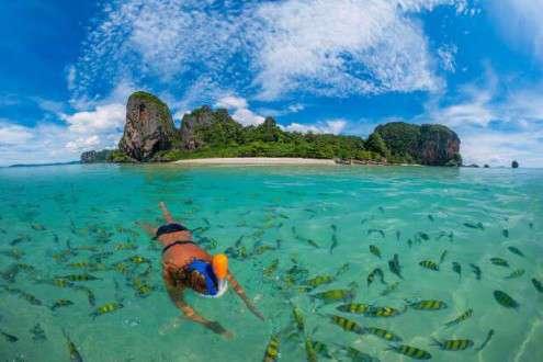Triángulo de Oro y playas de Krabi y Phi Phi