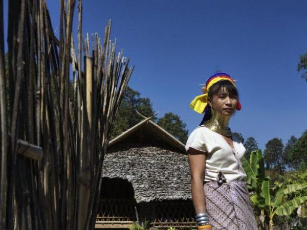 Chiang Mai mujeres jirafa