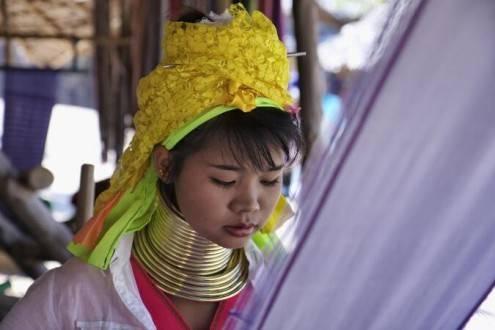 Que ver en Tailandia - Mujeres Jirafa