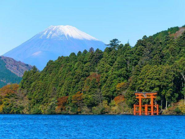 Viajes a Japón - Que ver en Japón - Hakone Lago Ashi