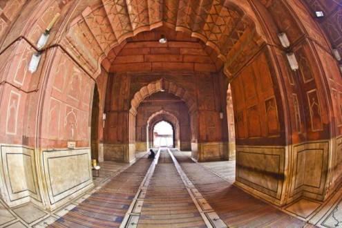 Viajes a la India - Que ver en la India - Delhi Jama Masjid
