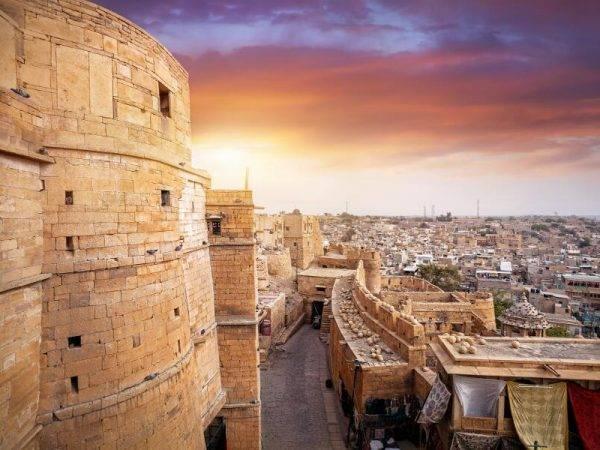 Viajes a la India - Que ver en la India - Jaisalmer Fortaleza