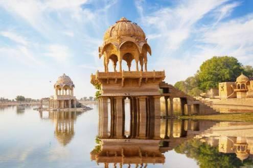 Viajes a la India - Que ver en la India - Jaisalmer - Lago Gadisar