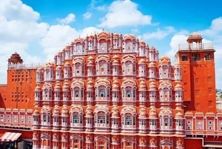 Viajes a la India - Que ver en la India - Jaipur Palacio de los Vientos