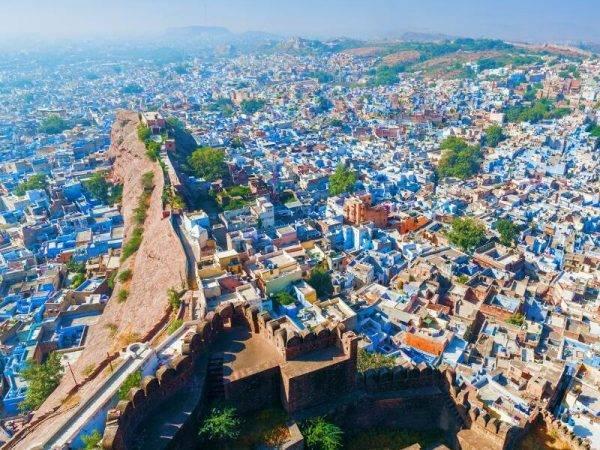 Viajes a la India - Que ver en la India - Jodhpur - Ciudad azul