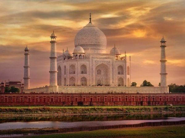 Trinagulo de la India - Taj Mahal