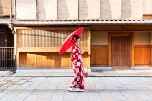 Que ver en Japón - Kioto Geisha