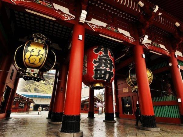 Viajes a Japón - Que ver en Japón - Tokio Santuario Sensoji