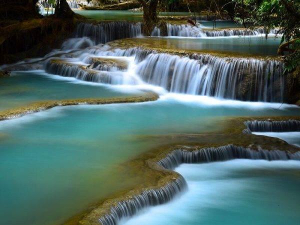 Viaje Laos Vietnam Camboya - Luan Prabang Cascada Kuang Si