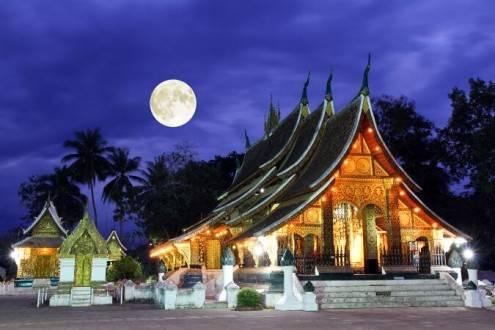 Viaje Laos Vietnam Camboya - Luan Prabang Wat Xieng