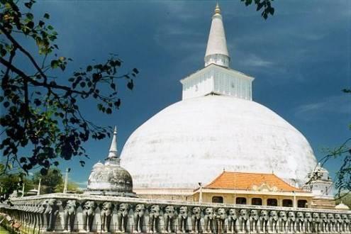 Que ver en Sri Lanka - Anuradhapura Pagoda