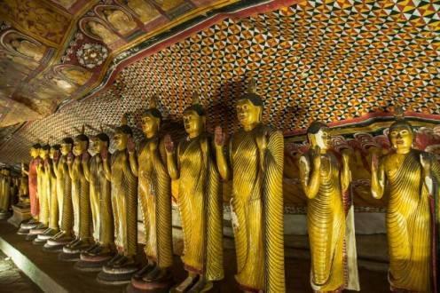 Que ver en Sri Lanka - Dambulla cuevas