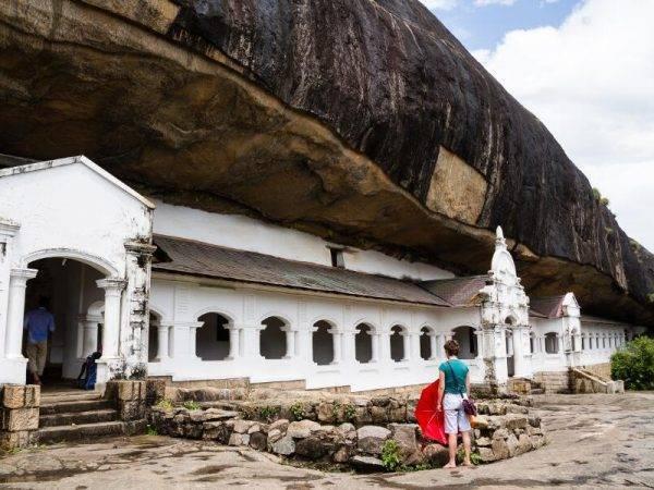 Sri Lanka de Norte a Sur - Dambulla Templo cuevas