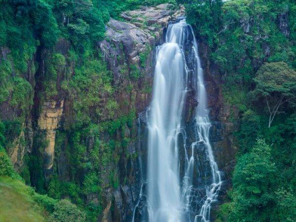 Viaje Sri Lanka - Nuwara Eliya Catarata Ella