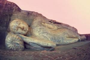 Que ver en Sri Lanka - Polonnaruwa Buda durmiendo