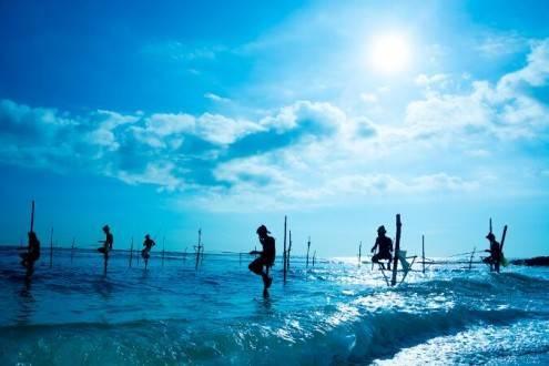 Que ver en Sri Lanka - Pescadores Weligama