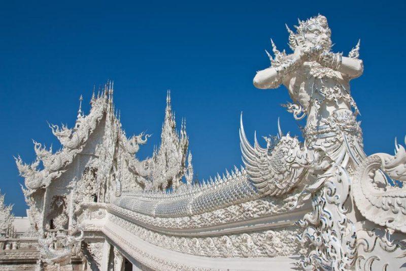 Viajes a Tailandia - Que ver en Tailandia - Chiang Rai Templo Wat Rong Khun