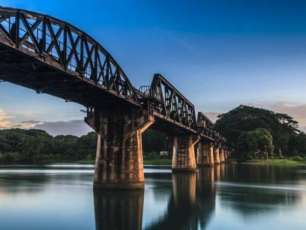 Tailandia al completo - Puente rio Kwai
