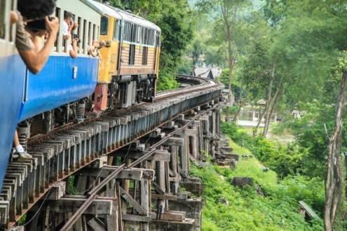 Que ver en Tailandia - Tren de la muerte