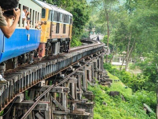 Tailandia de Norte a Sur - Tren de la muerte