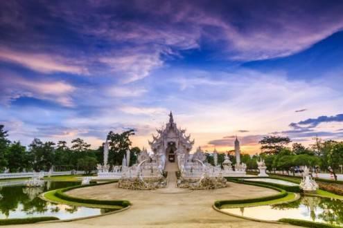 Que ver en Tailandia - Templo Wat Rong Khun