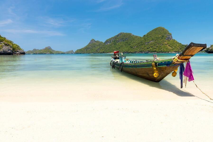 Viaje de aventura en Tailandia - Playa Koh Samui