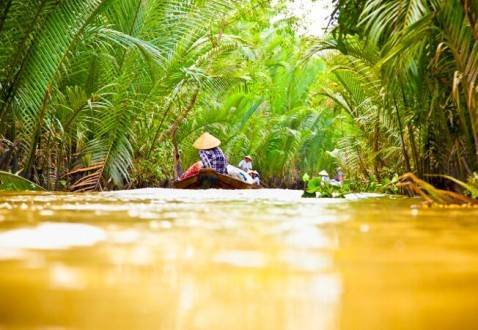 Viajes a vietnam - Que ver en Vietnam - Delta del Mekong paseo en piragua