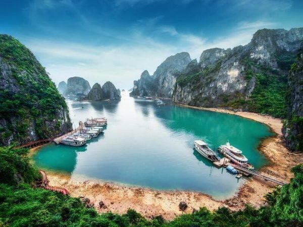 Viaje Laos Vietnam Camboya - Bahia de Halong