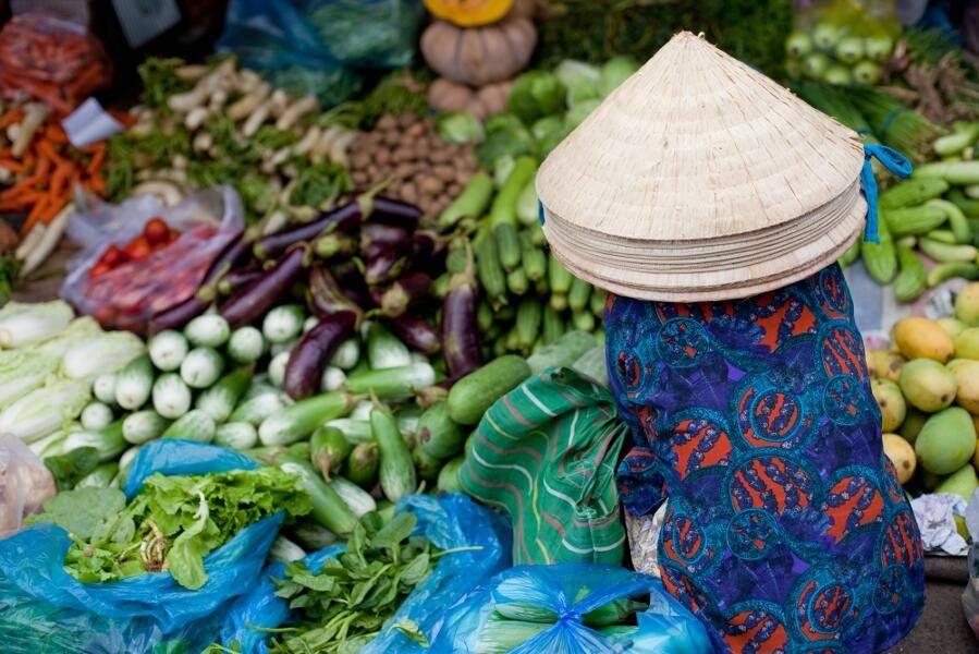 Combinado Vietnam y Camboya - Hanoi mercado
