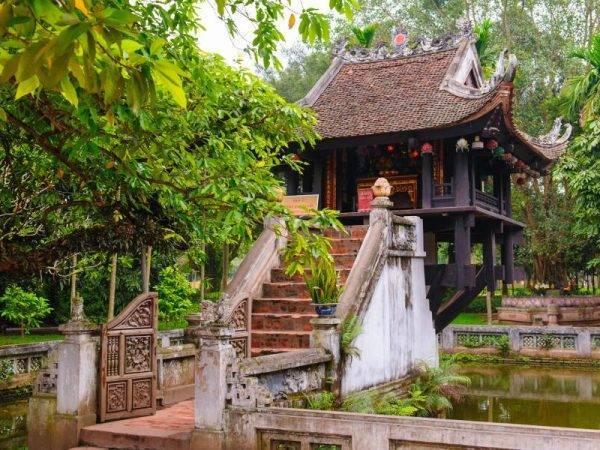 Viajes a Vietnam - Que ver en Vietnam - Hanoi Pagoda de un pilar