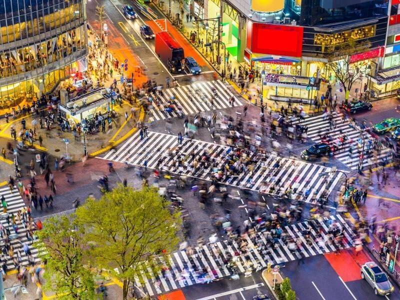 Viajes a Japón - Que ver en Japón - Tokio - Cruce de Shibuya