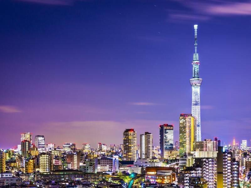 Viajes a Japón - Que ver en Japón - Tokio - Sky Tower