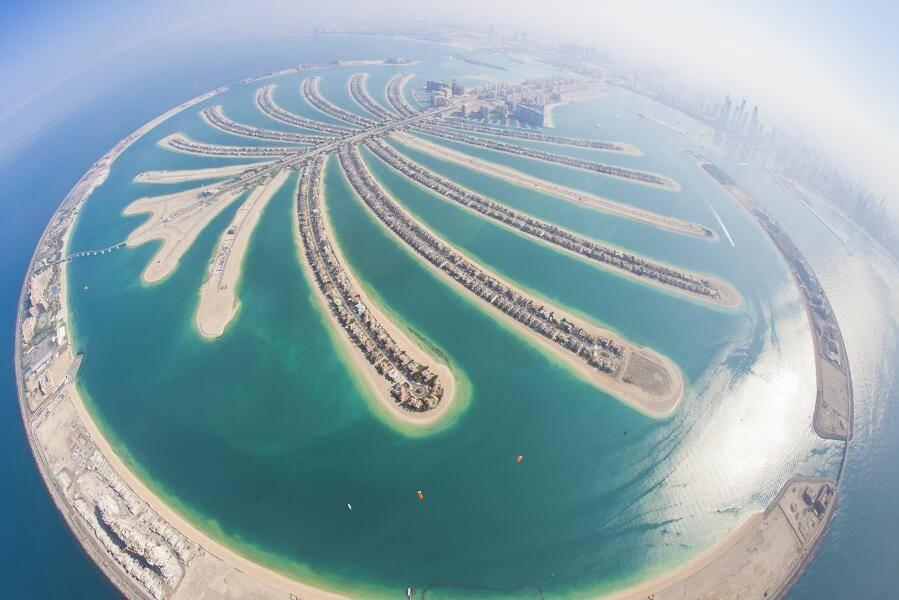 Puente de Dicciembre Dubai - Isla Plamera