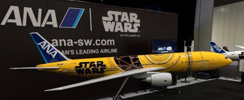 Vuelos a Japón - Maqueta Avión Star Wars
