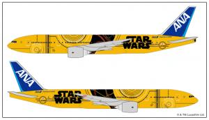 Diseño Avión Star Wars