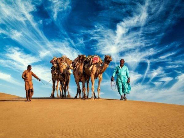 Descubre Rajasthán - Desierto Jaisalmer