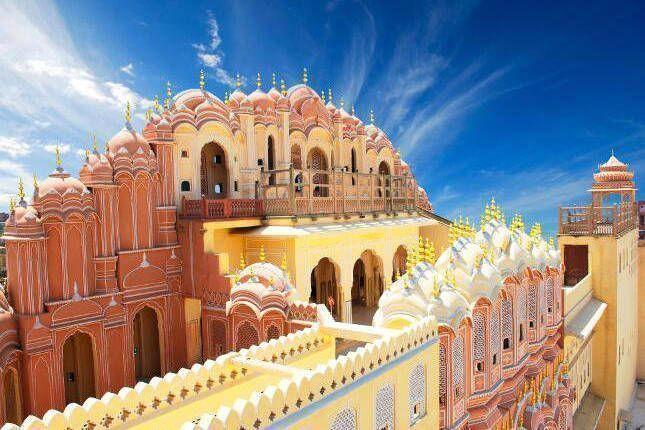 Descubre Rajasthán - Jaiur - Palacio de los Vientos