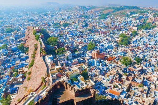 viajar jodhpur ciudad azul