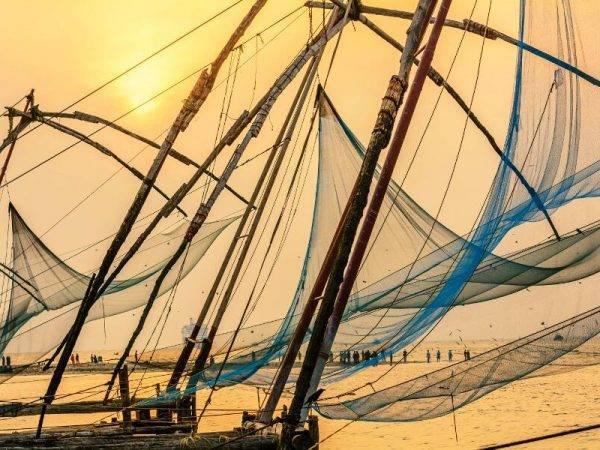 Sur de la India - Cochin - Redes Chinas