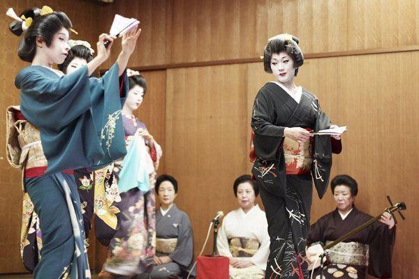 espectaculo geishas