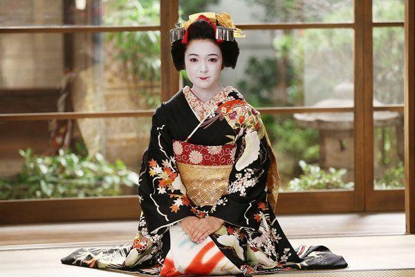 vestido geisha