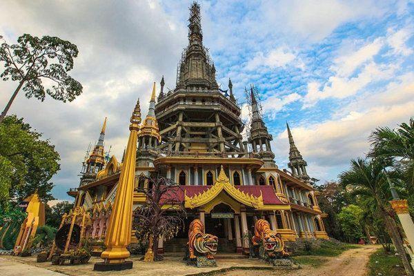 Playas de Tailadia - Templo del Tigre, Tailandia