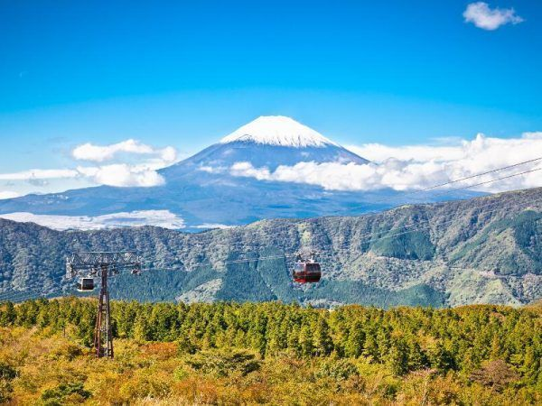 Japón ciudades - Hakone teleférico