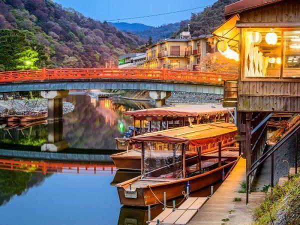 Japón ciudades - Kioto puente
