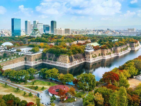 Mejor época para viajar a Japón - Osaka Castillo