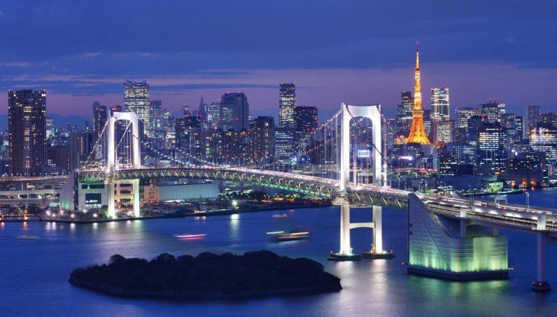 Visitar Tokio - Puente colgante