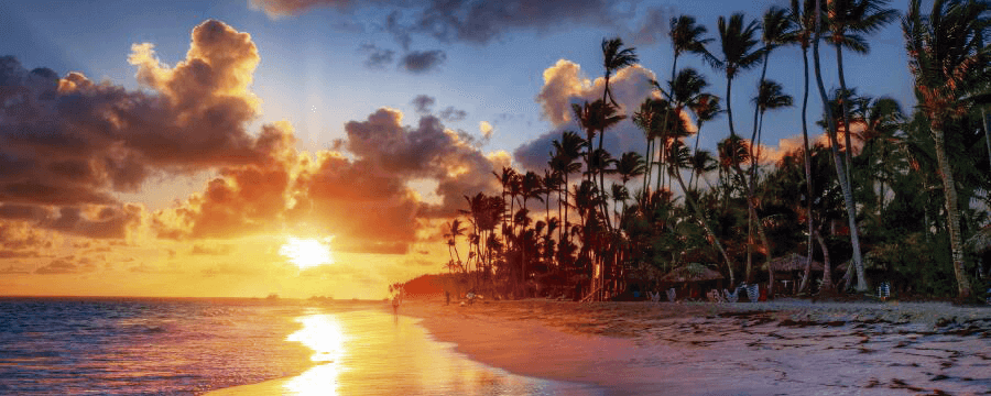 playa atardecer maldivas