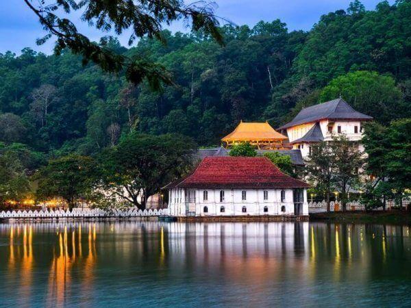 Sri Lanka Verano - Kandi lago