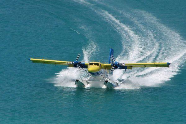 Hidroavión Maldivas