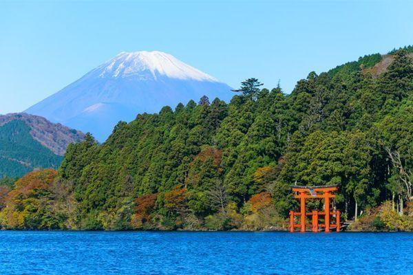 Viajar Hakone Lago Ashi